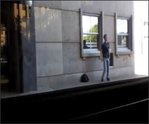 bus stop dancer Funny Video