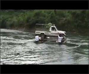 Canoe Truck Funny Video