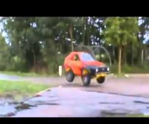 car gymnastics Funny Video