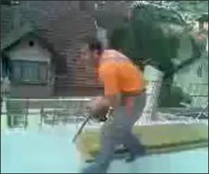 Chainsaw Prank Funny Video