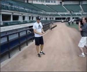 Baseball Bat Tricks Funny Video