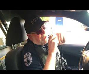 cops final sign off after 39 years Funny Video