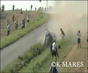 Rally Car Crashes Video