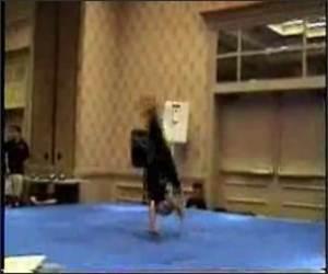 Crazy Ninja Girl Funny Video