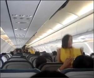 Dancing PLane Safety Funny Video
