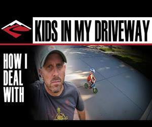 deal with kids playing in the driveway Funny Video