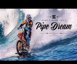 dirt bike to surf waves Funny Video