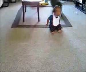 Dog Makes baby Laugh Funny Video