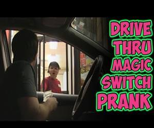drive through switch prank Funny Video