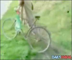 Drunk Russian Bike Rider Video