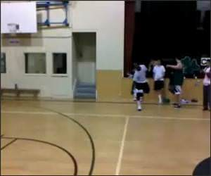 Dunk Breaks Backboard Video