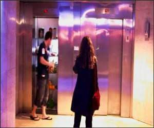 Elevator Living Room Funny Video