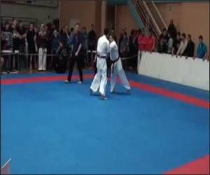 Epic Karate Knockout Video