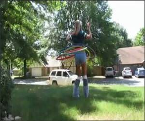 Hula Hooper Girl Video