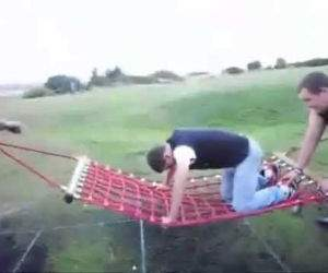 extreme hammocking Funny Video