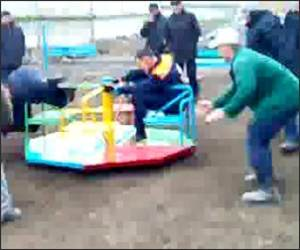 Extreme Merry Go Round Funny Video