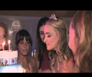 eyelashes on fire birthday Funny Video