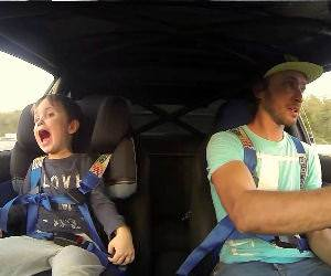 father and sone drifting Funny Video