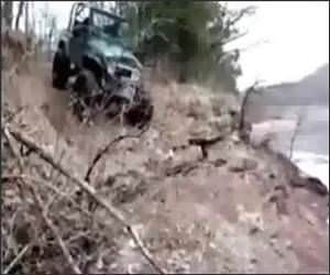 Jeep Flip Funny Video