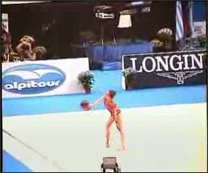 Freakishly Amazing Gymnast