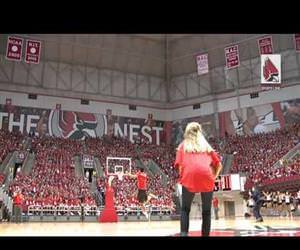 free tuition half court shot Funny Video