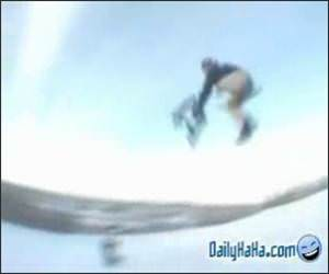Freestyle Snow Biking