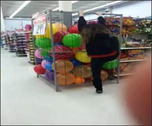 Walmart Ball Pit Funny Video