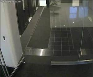 Glass Door Failure Funny Video