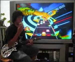Rubiks and Guitar Hero Funny Video