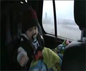 Heavy Metal Baby Funny Video