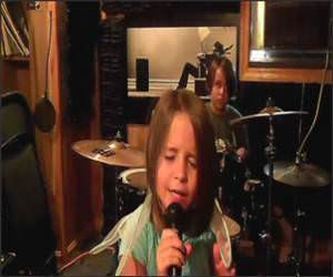 Heavy Metal Little Girl Video