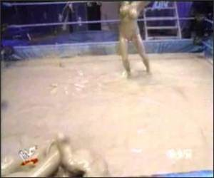 Female Mud Wrestling.