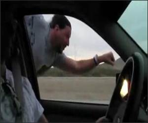Highway superman Funny Video