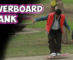 hoverboard prank Funny Video