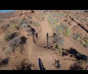 insane first person mountain bike video Funny Video