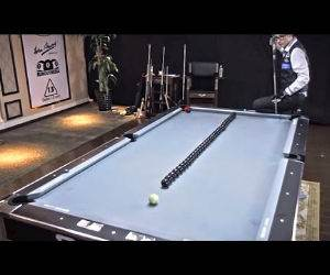 insane pool trick shots Funny Video