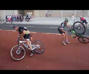 insane wind stops a race Funny Video
