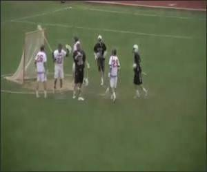 Lacrosse Announcer Funny Video