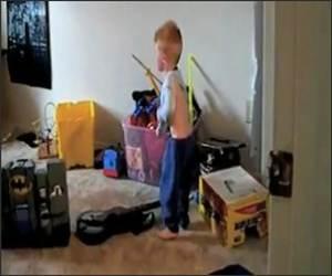 Little Boy Shirt Tantrum Video