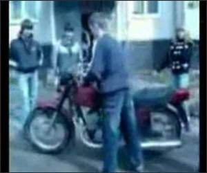 Motorcycle Crasher Funny Video