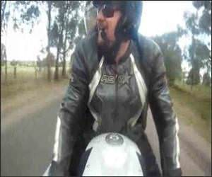Near Death Motorcycle Video