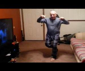 old man has serious moves Funny Video