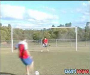 Penalty Kick to the Face