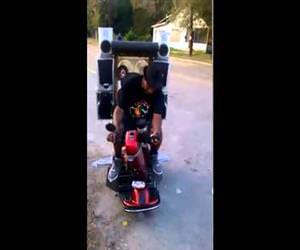 pimp my scooter Funny Video