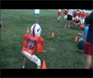 Pop Warner Hit Funny Video