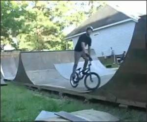 Really Cool BMX Trick Video