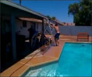 Redneck Diving Board Funny Video