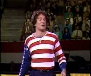 robin williams american flag Funny Video