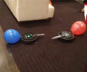 Roomba Knife Fight Funny Video