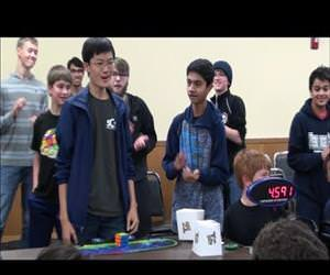rubiks cube world record Funny Video